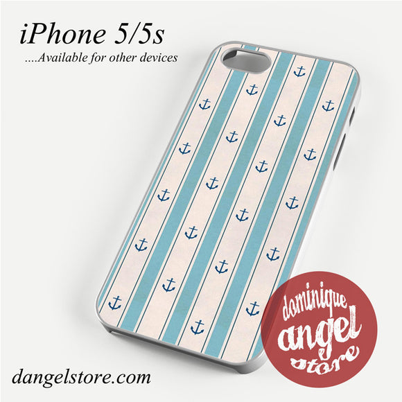 Anchor Light blue Phone case for iPhone 4/4s/5/5c/5s/6/6s/6 plus