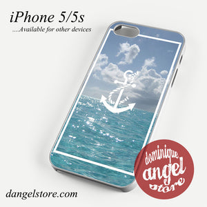 Anchor Sea Art Phone case for iPhone 4/4s/5/5c/5s/6/6s/6 plus