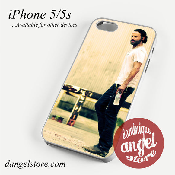 Andrew lincoln as rick grimes Phone case for iPhone 4/4s/5/5c/5s/6/6 plus