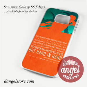 Aquaman Quotes Phone Case for Samsung Galaxy S3/S4/S5/S6/S6 Edge