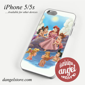 Ariel and Her Friends Phone case for iPhone 4/4s/5/5c/5s/6/6 plus