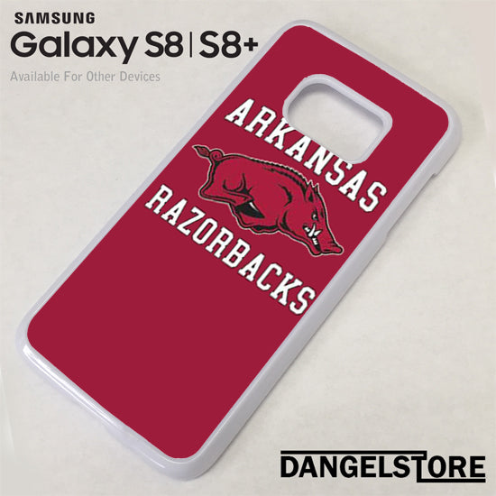 Arkansas Razorbacks Samsung Galaxy S8 Case - Dangelstore