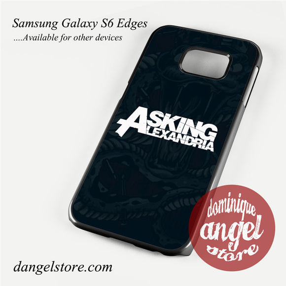 Asking Alexandria metal band Phone Case for Samsung Galaxy S3/S4/S5/S6/S6 Edge