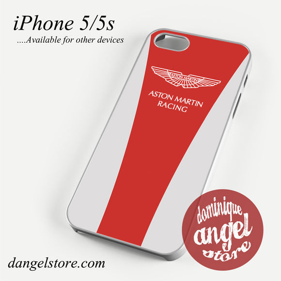 Aston Martin Red White Racing Phone case for iPhone 4/4s/5/5c/5s/6/6 plus