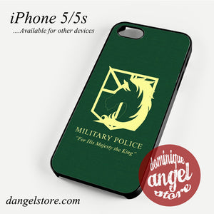 Attack on The Titan miitary Police (2) Phone case for iPhone 4/4s/5/5c/5s/6/6 plus