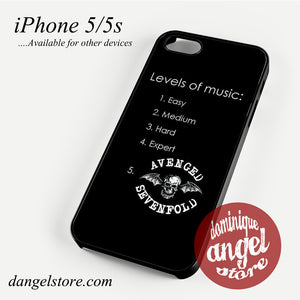 Avenged Sevenfold Fan Quote case for iPhone 4/4s/5/5c/5s/6/6 plus