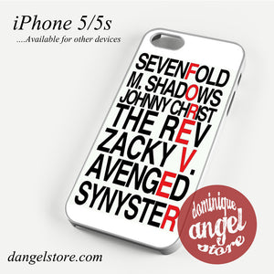 Avenged Sevenfold Quotes forever Phone case for iPhone 4/4s/5/5c/5s/6/6 plus