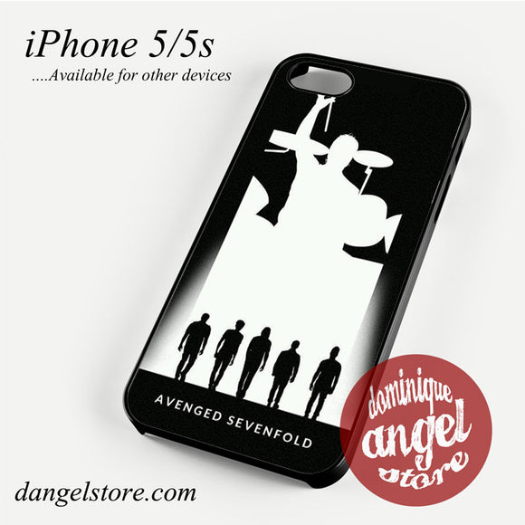Avenged Sevenfold Siluet Phone case for iPhone 4/4s/5/5c/5s/6/6 plus