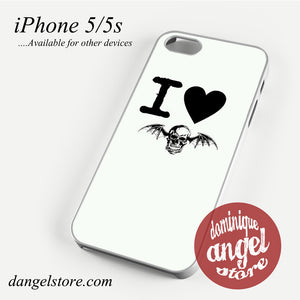 Avenged Sevenfold love 4 Phone case for iPhone 4/4s/5/5c/5s/6/6 plus