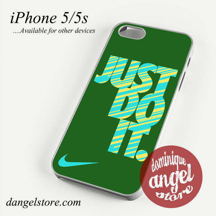 Awesome nike just do it dark green Phone case for iPhone 4/4s/5/5c/5s/6/6 plus