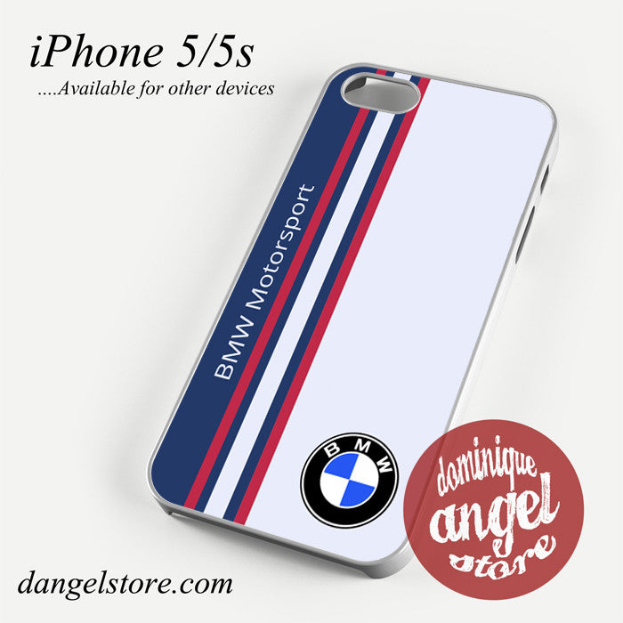 BMW Motorsport Logo Phone case for iPhone 4/4s/5/5c/5s/6/6 plus