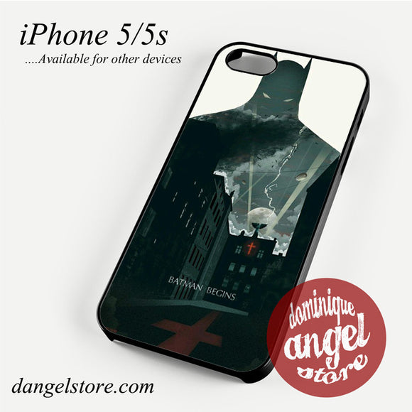 Batman Begins Phone case for iPhone 4/4s/5/5c/5s/6/6 plus