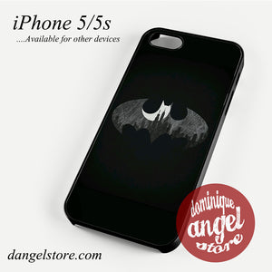Batman Logo Black&white Phone case for iPhone 4/4s/5/5c/5s/6/6 plus