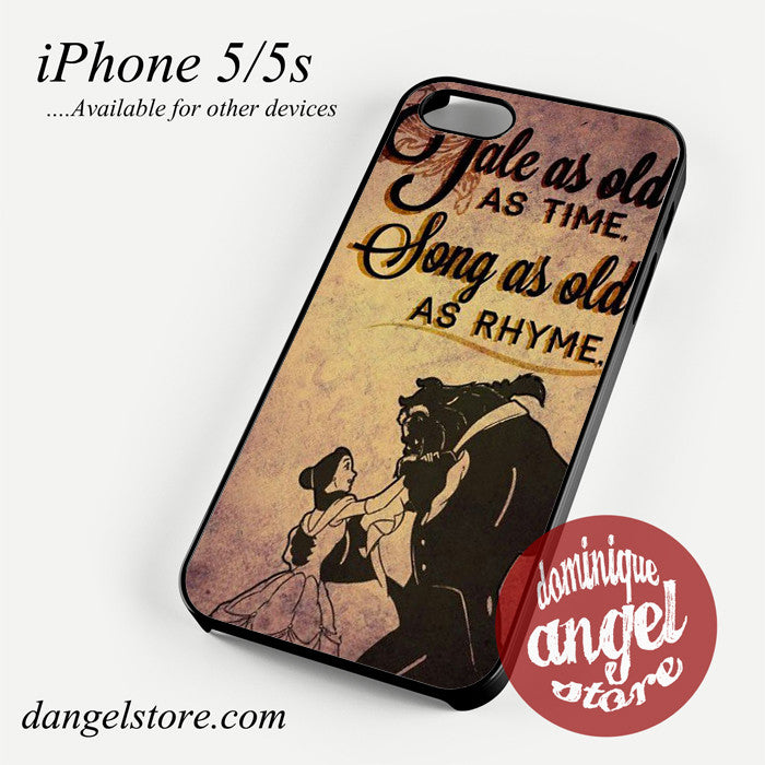 Beauty And The Beast Quotes Phone case for iPhone 4/4s/5/5c/5s/6/6 plus