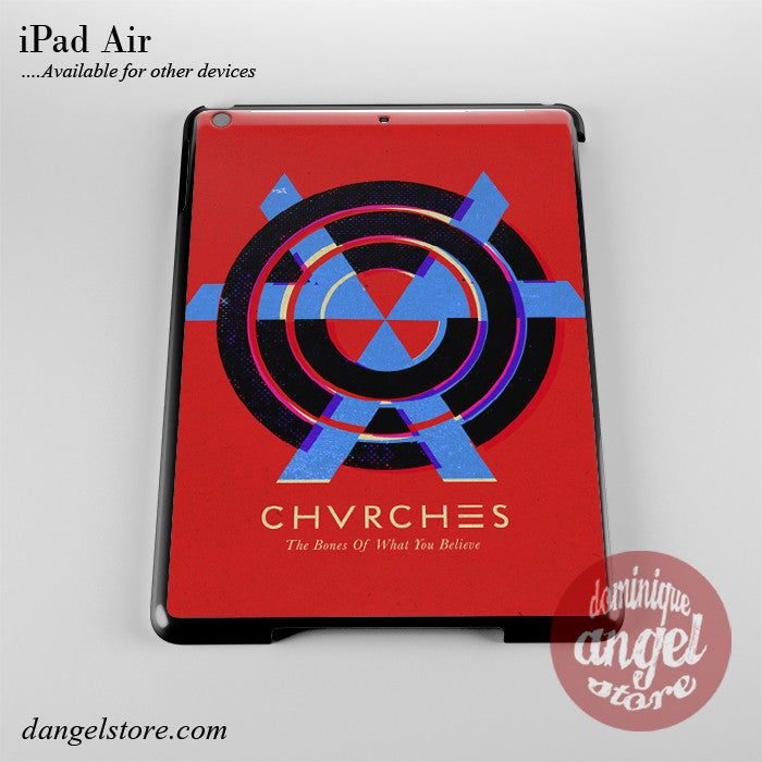Chvrches The Bones Of What You Believe Phone Case for iPad Devices