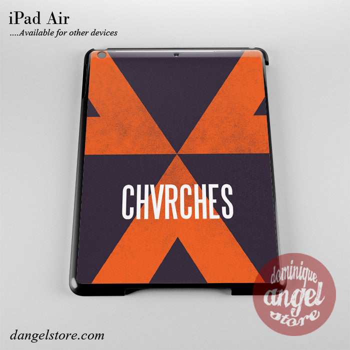 Chvrches Logo Pattern Phone Case for iPad Devices