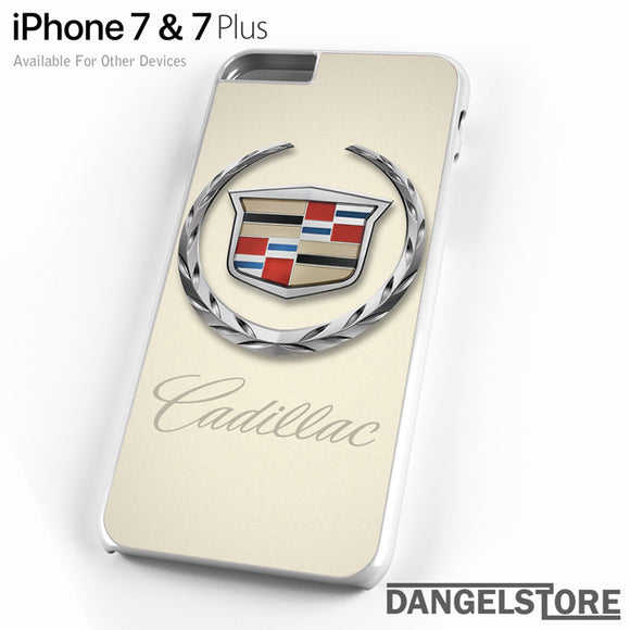 Cadillac Logo - iPhone Case - iPhone 7 Case - iPhone 7 Plus Case - DANGELSTORE