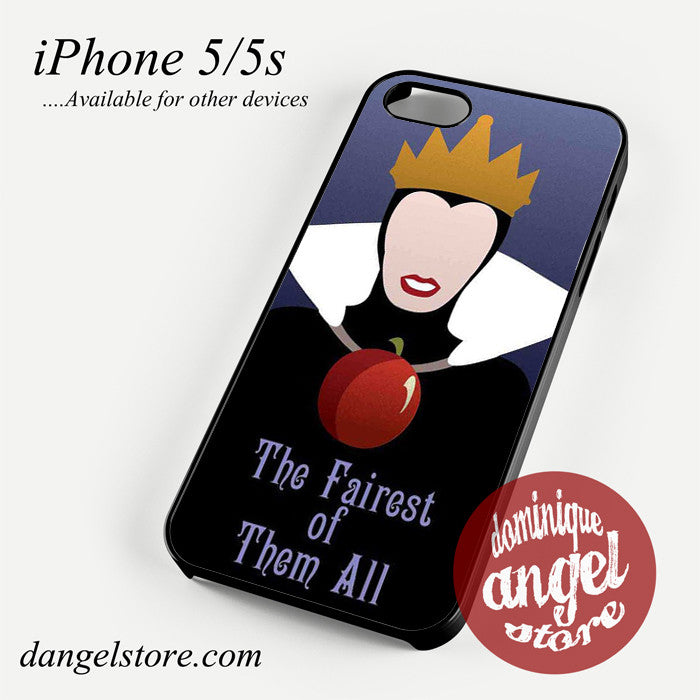 Evil Queen The Fairest Of Them All Phone case for iPhone 4/4s/5/5c/5s/6/6 plus