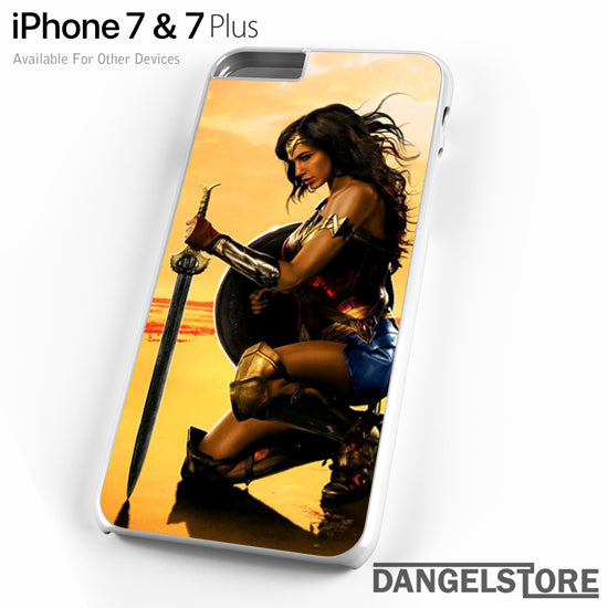 Gal Gadot as Wonder Woman 2 T - iPhone Case - iPhone 7 Case - iPhone 7 Plus Case - DANGELSTORE