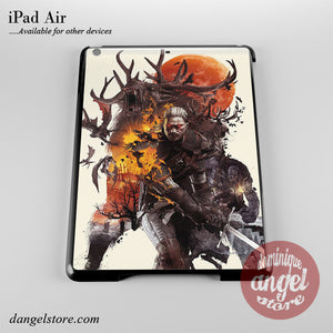 Geralt Handling Monster Phone Case for iPad Devices