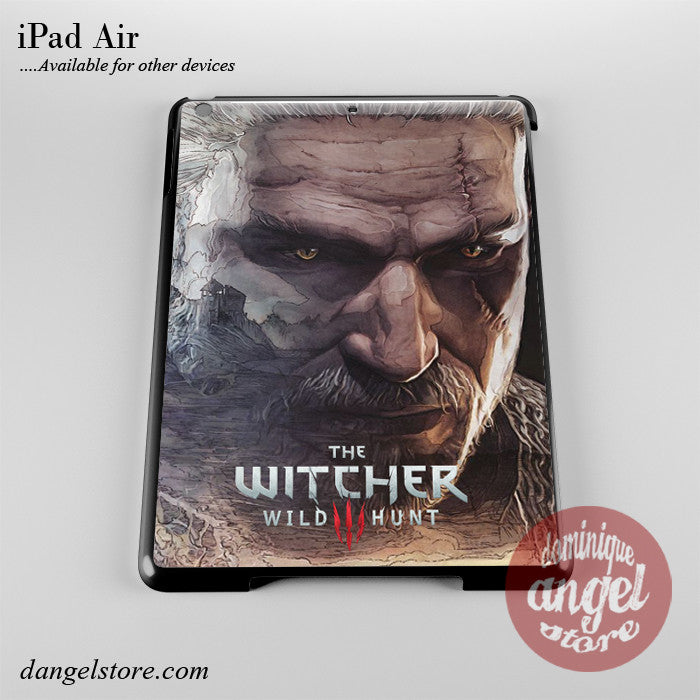 Geralt The Witcher Phone Case for iPad Devices