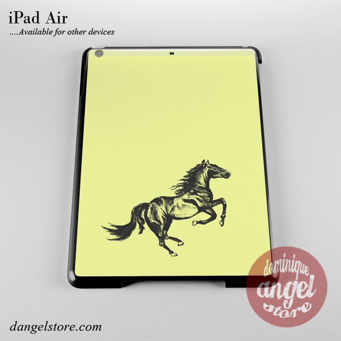Horse Sketch Phone Case for iPad Devices