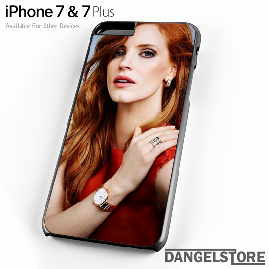 Jessica Chastain YT - iPhone Case - iPhone 7 Case - iPhone 7 Plus Case - DANGELSTORE