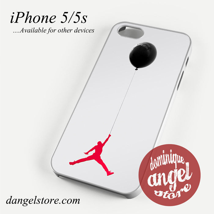 Jordan Holding Balloon Phone case for iPhone 4/4s/5/5c/5s/6/6 plus