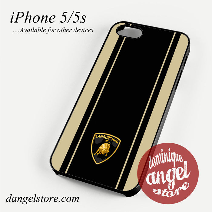 Lamborghini Aventador Brown Phone case for iPhone 4/4s/5/5c/5s/6/6 plus