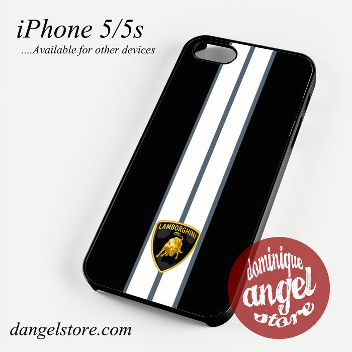 Lamborghini Custom Logo Phone case for iPhone 4/4s/5/5c/5s/6/6 plus