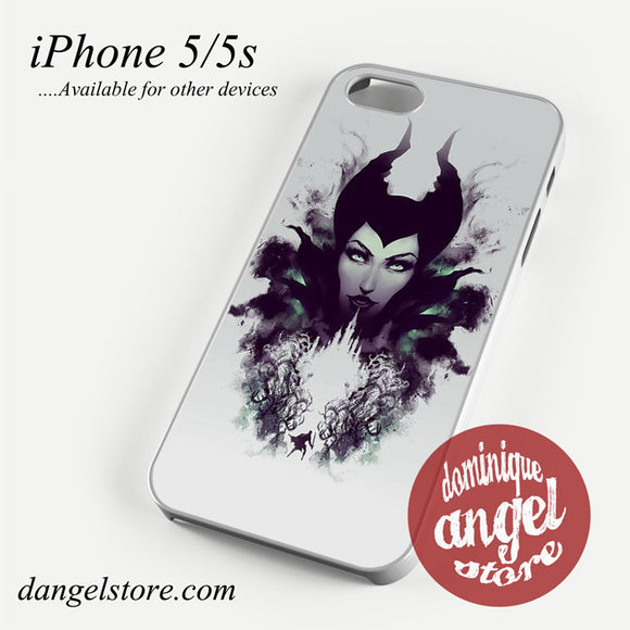 Maleficent Art Phone case for iPhone 4/4s/5/5c/5s/6/6 plus
