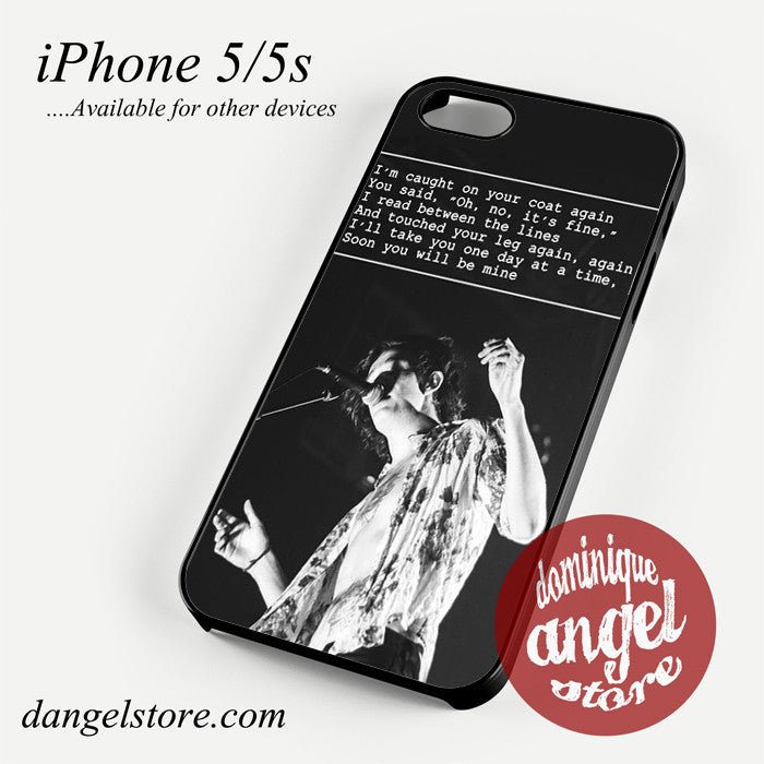 Matt Healy Lyrics Phone case for iPhone 4/4s/5/5c/5s/6/6 plus