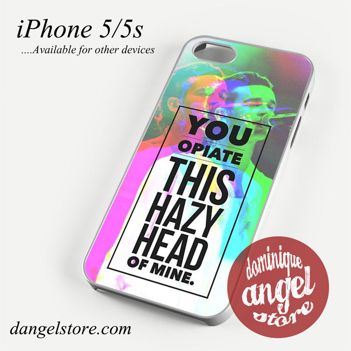 Matt Healy You Optiate ThisHazy Head Of mine Phone case for iPhone 4/4s/5/5c/5s/6/6 plus