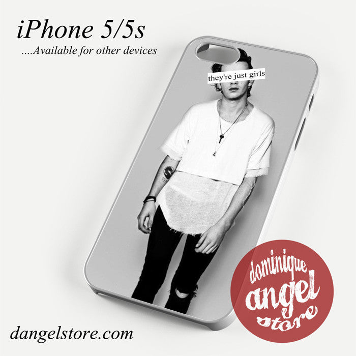 Matthew Healy They're Just Girls Phone case for iPhone 4/4s/5/5c/5s/6/6 plus