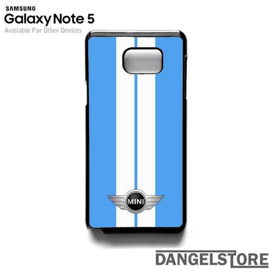 Mini Cooper Light Blue HC- Samsung Note 5 - DANGELSTORE