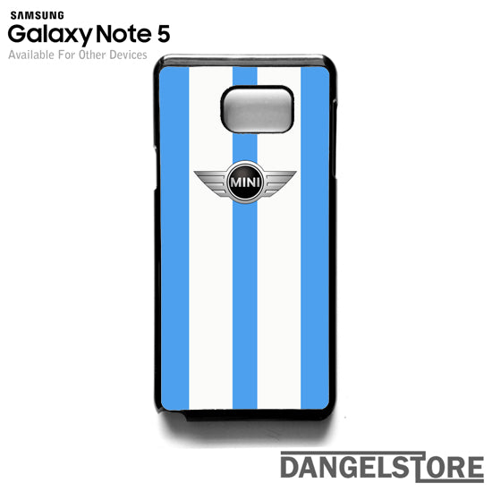 Mini Cooper Original Blue HC- Samsung Note 5 - DANGELSTORE