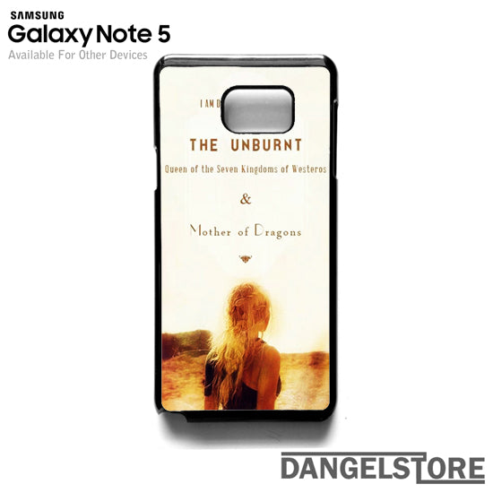 Mother of Dragon T- Samsung Note 5 - DANGELSTORE