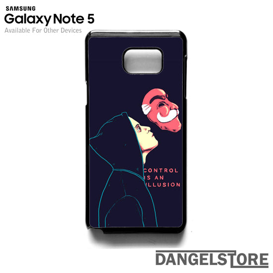 Mr Robot Control is an Illusion T- Samsung Note 5 - DANGELSTORE