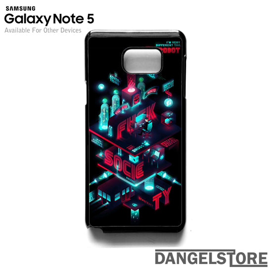 Mr Robot T- Samsung Note 5 - DANGELSTORE