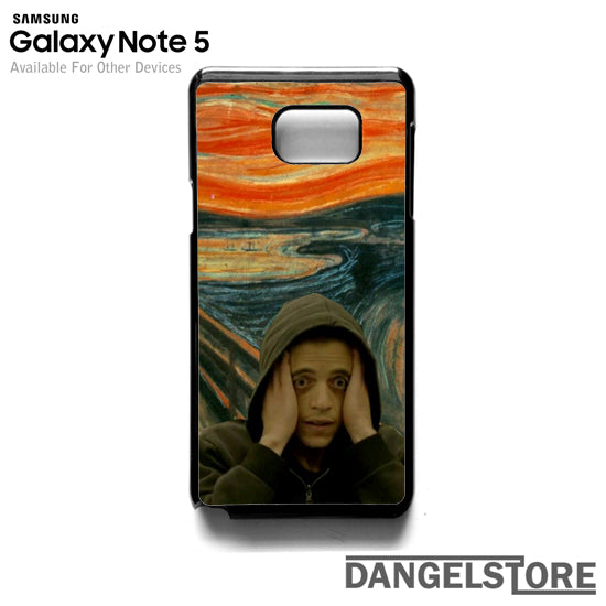 Mr Robot on paint T- Samsung Note 5 - DANGELSTORE