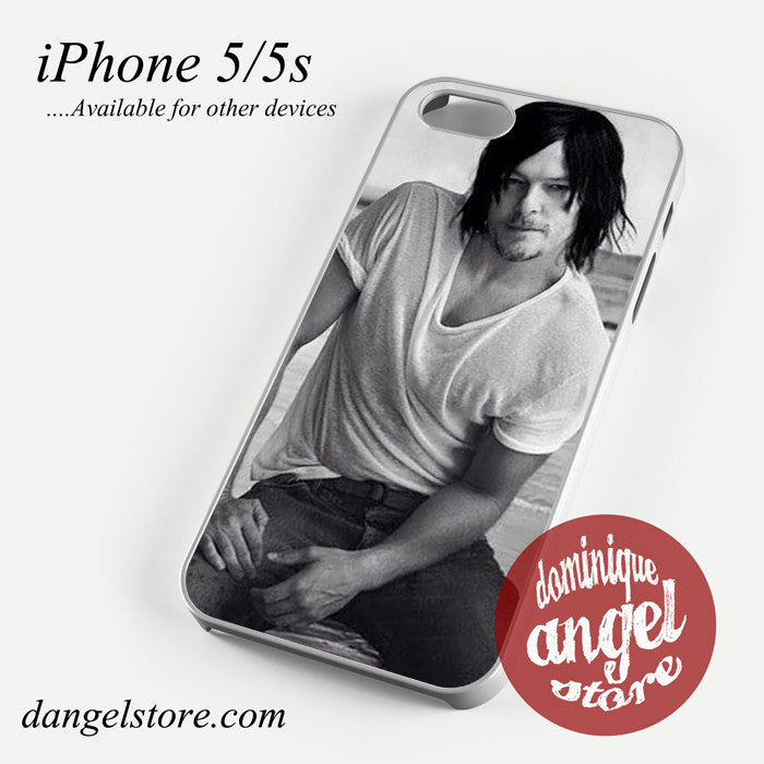 Norman Reedus Photoshoot Phone case for iPhone 4/4s/5/5c/5s/6/6 plus