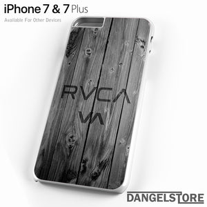 RVCA Wood Style - iPhone Case - iPhone 7 Case - iPhone 7 Plus Case - DANGELSTORE