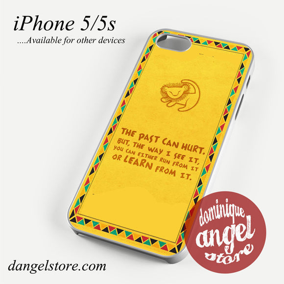 Simba Lion King Quote Phone case for iPhone 4/4s/5/5c/5s/6/6 plus