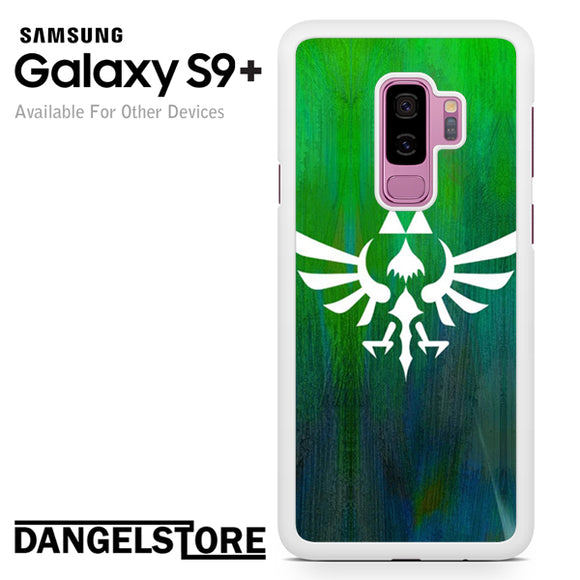 Zelda Logo Art - Samsung Galaxy S9 Plus by Dangelstore team