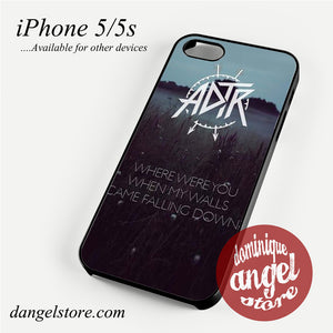 a day to remember Came falling down Phone Case for iPhone 4/4s/5/5c/5s/6/6 plus