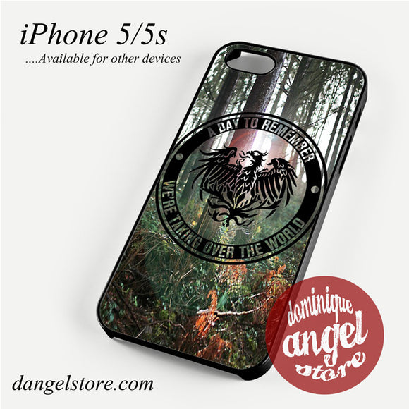 a day to remember in Wood Phone Case for iPhone 4/4s/5/5c/5s/6/6 plus