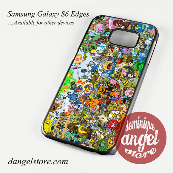 adventure time party Phone Case for Samsung Galaxy S3/S4/S5/S6/S6 Edge