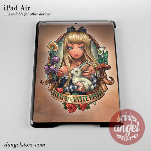 Alice And Wonderland Pin Up Phone Case for iPad Devices
