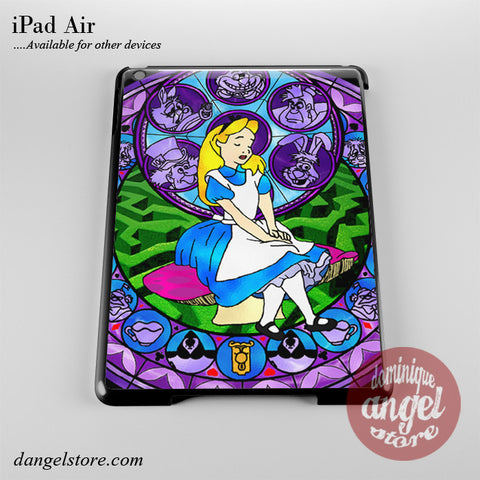 Alice Stained Glass Phone Case for iPad Devices