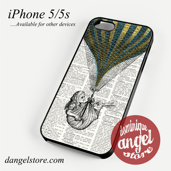 alice in wonderland book Phone case for iPhone 4/4s/5/5c/5s/6/6 plus